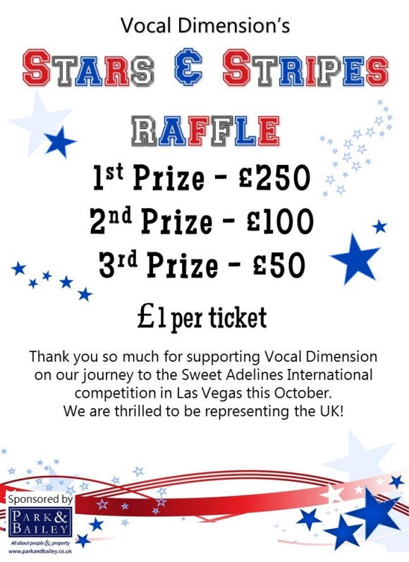 The BIG Stars and Stripes Raffle 2016