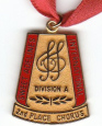 2nd place small chorus medal!
