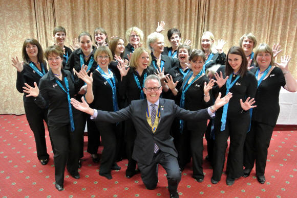 Vocal Dimension with Geoff Geach, President of the Rotary Club of Reigate Hill