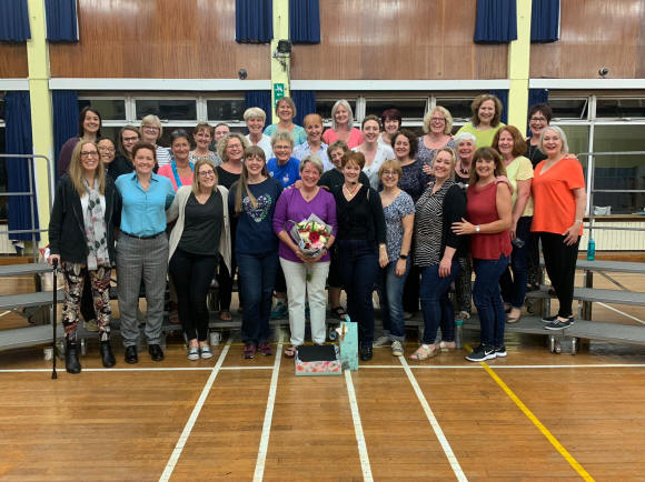 A fond farewell to Kay Griggs-Wright