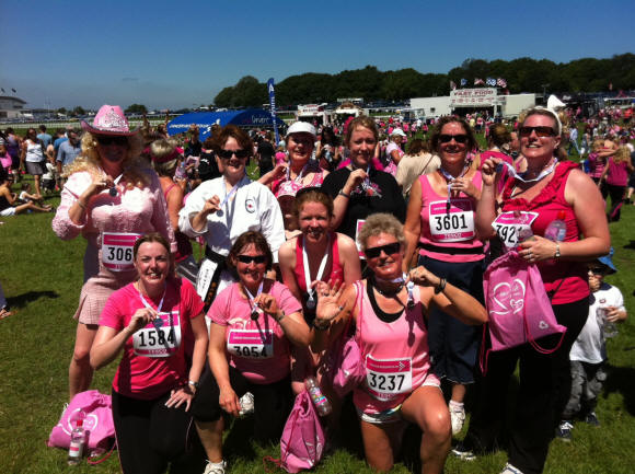 Vocal Dimension run the Race for Life
