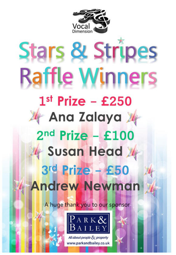 The BIG Stars & Stripes Raffle